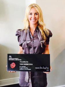 Dr. Tara Inducted into the ASDA